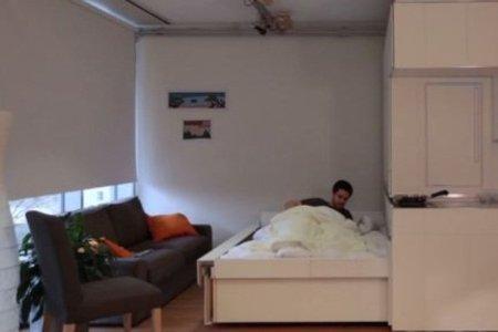 H κατασκευή που τριπλασιάζει το χώρο στο διαμέρισμα! (video)
